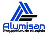 ALUMISAN – ESQUADRIAS DE ALUMÍNIO Logo